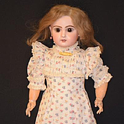 Antique Doll French Bisque BeBe Jumeau Gorgeous Face