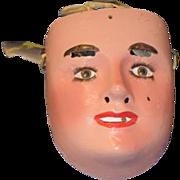 Wonderful Old Mask Doll Face Unusual