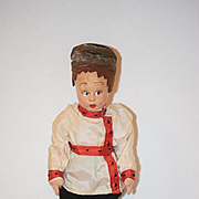 Old Doll Lenci Cloth Felt Mascott Adorable