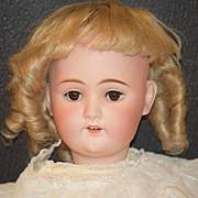 Antique Doll Bisque MY SWEETHEART Doll By Adolf Wislizenus Sweet Face