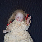 Antique Doll Bisque Miniature Dollhouse All Bisque
