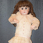 Antique Doll French RARE Phenix BeBe Steiner Rare Bisque Hands w/ Fingernails Closed Mouth GORGEOUS!