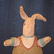 Old Doll Cloth Rabbit Stuffed Toy for Doll Peter Rabbit?