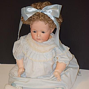 Antique Doll Bisque Baby Doll Big Nippon Cutie Pie
