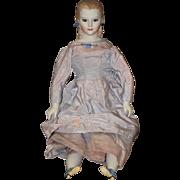 Vintage Doll Martha D. Thompson Artist China Head Glass Eyes