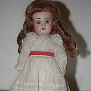 Antique Doll Miniature Bisque Head SWEET