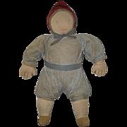Old Doll Old Cloth Doll Rag Doll Unusual Folk Art