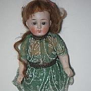 Antique Doll Miniature All Bisque Dollhouse Unusual