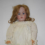 Antique Doll Kestner Big Girl Bisque Doll Beauty 31""