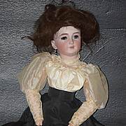 "Antique Doll Bisque Simon & Halbig 1159 Gibson Girl GORGEOUS Big 23"" Tall"