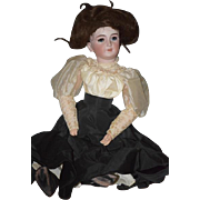 "Antique Doll Bisque Simon & Halbig 1159 Gibson Girl GORGEOUS Big 23"" Tall"