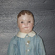 Antique Doll Cloth Doll Oil Painted Philadelphia Baby J.B. Sheppard Wonderful