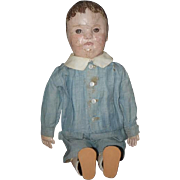 Antique Doll Cloth Doll Oil Painted Philadelphia Baby J.B. Sheppard Wonderful
