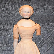 Antique Doll Parian China Head Gorgeous