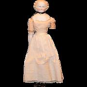 Antique Doll Parian China Head Gorgeous