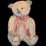 Wonderful Teddy Bear Greta Mohair Jointed Artist Jon Von Houton