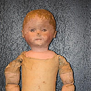 Antique Doll Martha Chase Oil Cloth