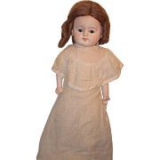 Antique Doll Papier Mache Paper Mache Large Doll