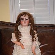 Antique Doll French Bisque TeTe Jumeau Bisque Doll Large Fancy Clothes