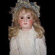 "Antique Doll French Bisque HUGE SFBJ TETE JUMEAU GORGEOUS 31"""