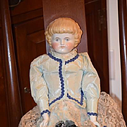 Antique Doll Highland Mary China Head dressed GORGEOUS!