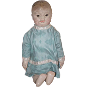 Antique Doll Oil Cloth American Cloth Philadelphia Baby For Sheppard Department Store Sheppard Baby