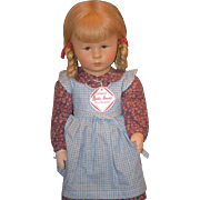Kathe Kruse Doll Original Clothes and Tag Aodrable
