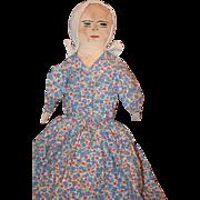 Old Doll Cloth Topsy Turvy Black Cloth Doll White Cloth Doll WONDERFUL