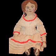 Old Doll Cloth Rag Doll Folk Art My Favorite Rag Doll! Unusual