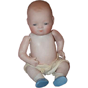 Antique Doll All Bisque Bye-lo Miniature Baby Doll Grace S. Putnam
