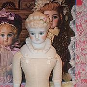 Wonderful Doll Emma Clear Fancy Bodice Glass Eyes Fancy Hair Style Bisque