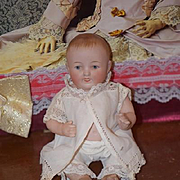 Antique Doll Character All Bisque Miniature Cabinet Size Kestner 830