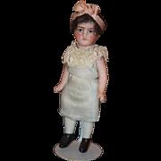 Antique Doll All Bisque Miniature Dollhouse Flapper Wonderful