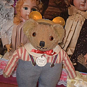 Vintage Teddy Bear Artist Teddy Bear of Witney Master Teddy Great Doll Toy!
