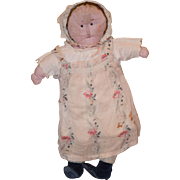 Old Doll Cloth Doll Rag Doll Folk Art Different Look Doll