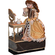 SALE!!! Antique Doll French Closed Mouth Automaton Leopold Lambert Wonderful Working!
