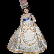 Wonderful Doll Coppelia 1971 Doll Princess Signed Artist Cloth Felt