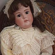 Antique Doll LARGE Bisque Kestner Girl 174 Dressed Ready to Display