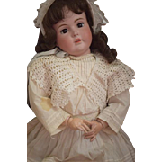 Antique Doll LARGE Bisque Kestner Girl 174 Dressed Ready to Display