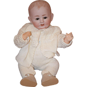 Antique Doll Baby Bisque Toddler Adorable Character Baby Franz Schmidt