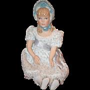 Vintage Doll Kathy Redmond Gorgeous Sculpted Bonnet