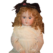 Antique Doll French Bisque Jumeau GORGEOUS HUGE 29""