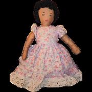 Wonderful Old Cloth Topsy Turvy Doll Black Cloth Doll White Cloth Doll Rag Doll Folk Art