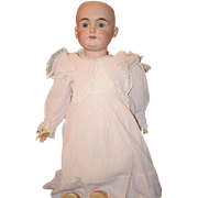Antique Doll Bisque Beautiful Kestner K Letter Doll Beautiful Girl