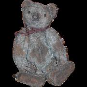Vintage Teddy Bear Doll Friend Bearable Bears Green Mohair Tagged Artist
