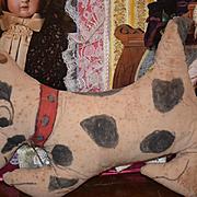 Old Dog Cloth Unusual Beatrice Forrest Folk Art Primitive Cloth Doll Rag Doll Unusual: