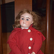 Antique Doll Plass & Roesner Dolly Face Rare P&R Doll Dressed for Easter! 1907