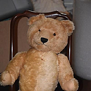 Vintage Teddy Bear Austria Berg Bear HUGE Jointed WONDERFUL