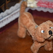 Vintage Dog Anker-Munich Mohair Miniature Dog