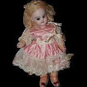 Antique Doll Miniature Bisque Head Swivel Head French Market Dollhouse